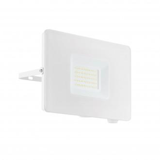 EGLO 33155 | Faedo Eglo reflektor svjetiljka - Samsung Chip četvrtast elementi koji se mogu okretati 1x LED 4800lm 4000K IP65 bijelo, prozirna