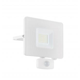 EGLO 33158 | Faedo Eglo reflektor svjetiljka - Samsung Chip sa senzorom, svjetlosni senzor - sumračni prekidač elementi koji se mogu okretati 1x LED 2750lm 4000K IP44 bijelo, prozirna