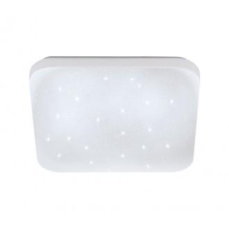 EGLO 33597 | Frania-S Eglo zidna, stropne svjetiljke svjetiljka četvrtast 1x LED 900lm 4000K bijelo, učinak kristala