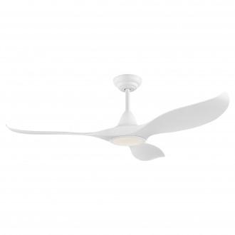 EGLO 35006 | Cirali-52 Eglo ventilatorska lampa stropne svjetiljke daljinski upravljač jačina svjetlosti se može podešavati, sa podešavanjem temperature boje, timer 1x LED 2000lm 2700 <-> 6500K bijelo mat