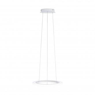 EGLO 39269 | Penaforte Eglo visilice svjetiljka okrugli jačina svjetlosti se može podešavati 1x LED 2100lm 3000K bijelo