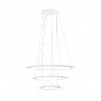 EGLO 39274 | Penaforte Eglo visilice svjetiljka okrugli jačina svjetlosti se može podešavati 1x LED 10700lm 3000K bijelo