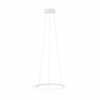EGLO 39305 | Penaforte Eglo visilice svjetiljka ovalni jačina svjetlosti se može podešavati 1x LED 2700lm 3000K bijelo