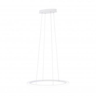 EGLO 39306 | Penaforte Eglo visilice svjetiljka ovalni jačina svjetlosti se može podešavati 1x LED 3700lm 3000K bijelo