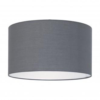 EGLO 39361 | Nadina-1 Eglo sjenilo sijenilo okrugli E27 sivo