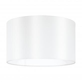 EGLO 39363 | Nadina-1 Eglo sjenilo sijenilo okrugli E27 bijelo