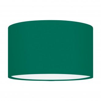 EGLO 39366 | Nadina-1 Eglo sjenilo sijenilo okrugli E27 zeleno