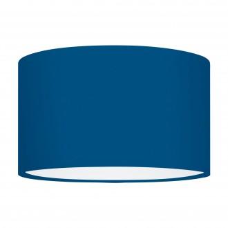 EGLO 39367 | Nadina-1 Eglo sjenilo sijenilo okrugli E27 plavo