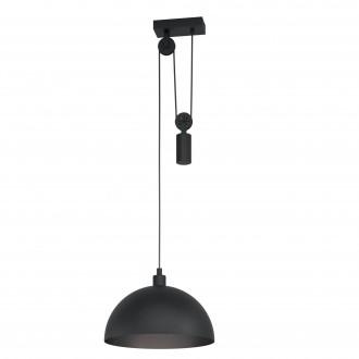EGLO 43435   Winkworth-1 Eglo visilice svjetiljka balansna - ravnotežna, sa visinskim podešavanjem 1x E27 crno