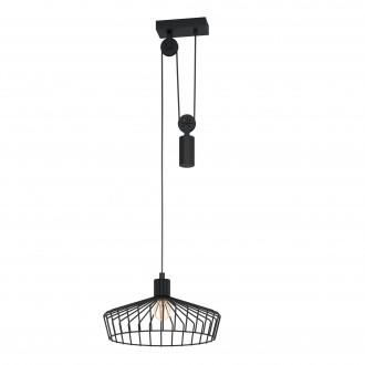 EGLO 43437   Winkworth Eglo visilice svjetiljka balansna - ravnotežna, sa visinskim podešavanjem 1x E27 crno