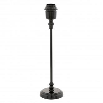 EGLO 49194 | Margate Eglo stolna svjetiljka 41cm s prekidačem 1x E27 crno