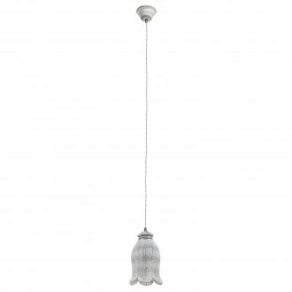 EGLO 49207 | Talbot_1 Eglo visilice svjetiljka 1x E27 siva antik