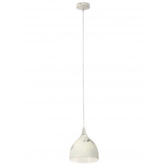 EGLO 49234 | Coretto_3 Eglo visilice svjetiljka 1x E27 antik bijela