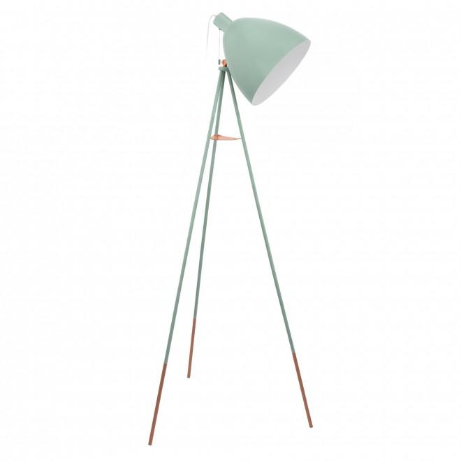 EGLO 49342   Dundee Eglo podna svjetiljka 135,5cm s poteznim prekidačem 1x E27 menta