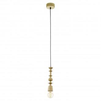 EGLO 49373 | Avoltri Eglo visilice svjetiljka 1x E27 boja hrasta