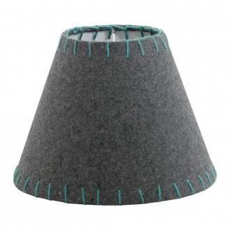 EGLO 49433 | Vintage-1+1 Eglo sjenilo sijenilo E14 sivo, zeleno