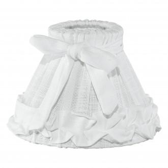 EGLO 49441 | Vintage-1+1 Eglo sjenilo sijenilo E14 bijelo