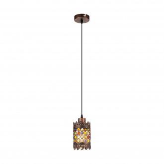 EGLO 49766 | Jadida Eglo visilice svjetiljka 1x E27 antik crveni bakar, u bojama
