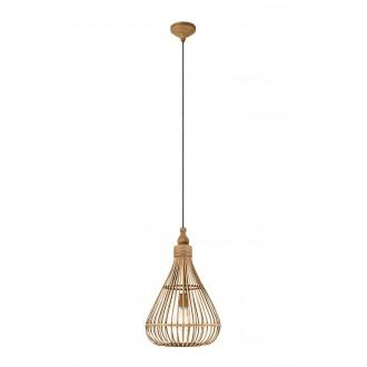 EGLO 49772 | Amsfield Eglo visilice svjetiljka 1x E27 smeđe