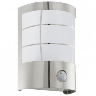 EGLO 75237 | Cerno1 Eglo zidna svjetiljka sa senzorom 1x E27 320lm 3000K IP44