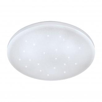 EGLO 75471 | Frania-S Eglo zidna, stropne svjetiljke svjetiljka okrugli 1x LED 720lm 3000K bijelo, učinak kristala