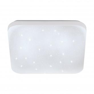EGLO 75472 | Frania-S Eglo zidna, stropne svjetiljke svjetiljka četvrtast 1x LED 720lm 3000K bijelo, učinak kristala