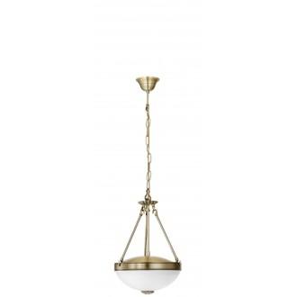 EGLO 82747 | Savoy Eglo visilice svjetiljka 2x E27 bronca, bijelo
