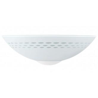 EGLO 82887 | Twister Eglo zidna svjetiljka 1x E27 saten, opal