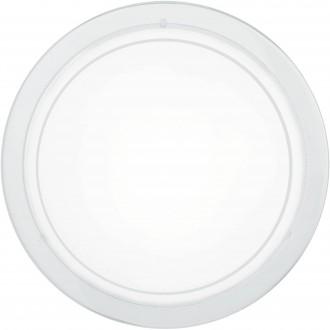 EGLO 83153 | Planet1 Eglo zidna, stropne svjetiljke svjetiljka 1x E27 bijelo, saten