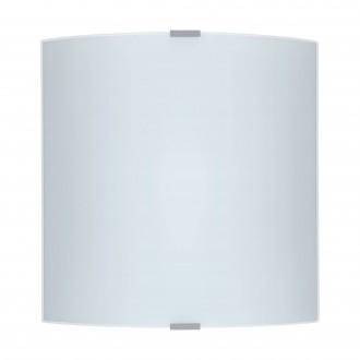 EGLO 84026 | Grafik Eglo zidna, stropne svjetiljke svjetiljka 1x E27 srebrno, saten, šare