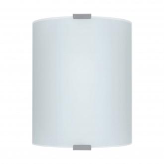 EGLO 84028 | Grafik Eglo zidna, stropne svjetiljke svjetiljka 1x E27 srebrno, saten, šare