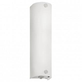 EGLO 85337 | Mono Eglo zidna svjetiljka s prekidačem 1x E14 krom, saten