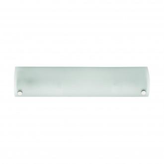 EGLO 85338 | Mono Eglo zidna svjetiljka s prekidačem 2x E14 krom, saten