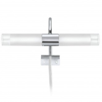 EGLO 85816   Granada Eglo zidna svjetiljka 2x G9 krom, saten