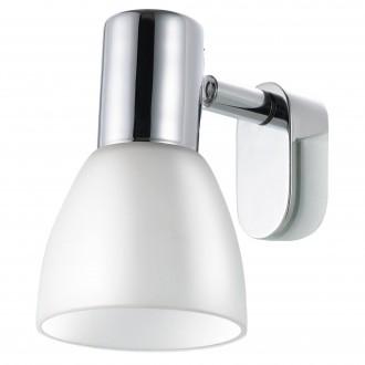 EGLO 85832 | Sticker Eglo ovetljenje ogledala svjetiljka 1x E14 krom, bijelo