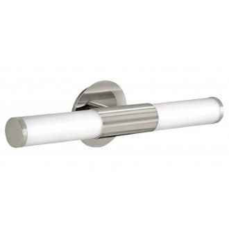 EGLO 87222 | Palmera Eglo zidna svjetiljka 2x E14 IP44 poniklano mat, opal