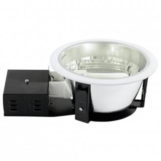 EGLO 87999 | Zano Eglo ugradbene svjetiljke - snažnozračne svjetiljke svjetiljka Ø235mm 2x E27 bijelo