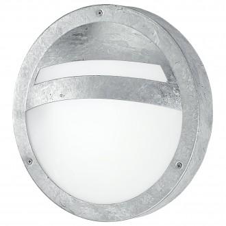 EGLO 88119 | Sevilla Eglo zidna, stropne svjetiljke svjetiljka 1x E27 IP44 pocinčana, saten