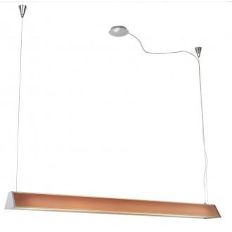 EGLO 89045   Tramp1 Eglo visilice svjetiljka s podešavanjem visine 2x G5 / T5 krom, narančasto