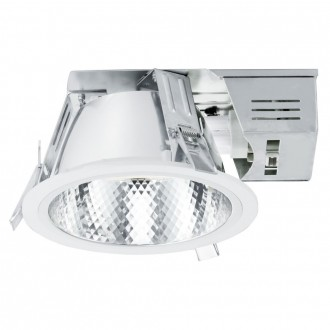 EGLO 89086 | Xara Eglo ugradbene svjetiljke - snažnozračne svjetiljke svjetiljka Ø185mm 1x G24q-2 / T2U/4P bijelo, krom