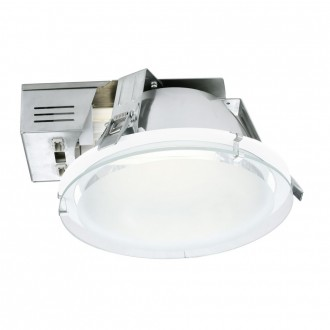 EGLO 89087 | Xara1 Eglo ugradbene svjetiljke - snažnozračne svjetiljke svjetiljka Ø185mm 1x G24q-2 / T2U/4P bijelo, saten