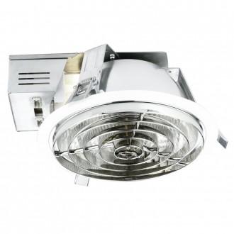 EGLO 89094 | Xara4 Eglo ugradbene svjetiljke - snažnozračne svjetiljke svjetiljka Ø220mm 2x G24q-2 / T2U/4P bijelo, krom