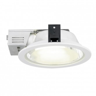 EGLO 89105 | Xara2 Eglo ugradbene svjetiljke - snažnozračne svjetiljke svjetiljka Ø235mm 2x E27 bijelo, saten