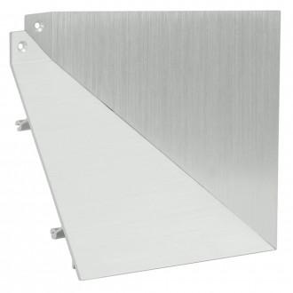 EGLO 89223 | Tricala Eglo zidna rezervni dijelovi brušeni aluminij