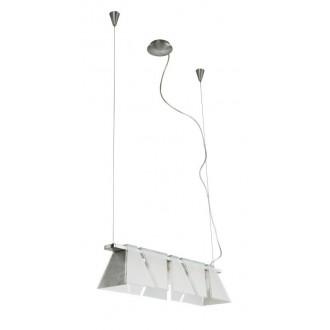 EGLO 89763 | Ximena Eglo visilice svjetiljka s podešavanjem visine 5x G9 poniklano mat, saten