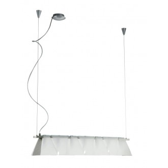 EGLO 89764 | Ximena Eglo visilice svjetiljka s podešavanjem visine 7x G9 poniklano mat, saten