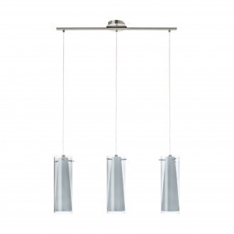 EGLO 90305 | PintoNero Eglo visilice svjetiljka 3x E27