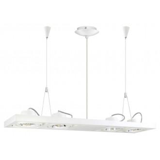 EGLO 90699 | Vectus Eglo visilice svjetiljka 4x G53 / AR111 bijelo