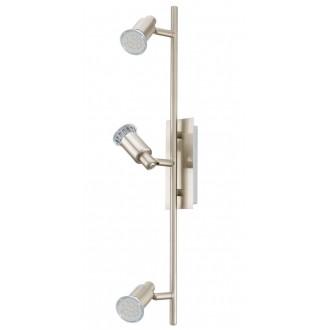 EGLO 90825   Eridan Eglo zidna, stropne svjetiljke svjetiljka elementi koji se mogu okretati 3x GU10 1200lm 3000K poniklano mat