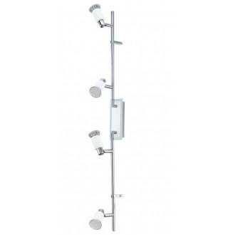 EGLO 90835   Eridan Eglo zidna, stropne svjetiljke svjetiljka elementi koji se mogu okretati 4x GU10 1600lm 3000K krom, blistavo bijela